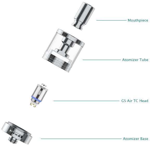GS-tanque atomizador