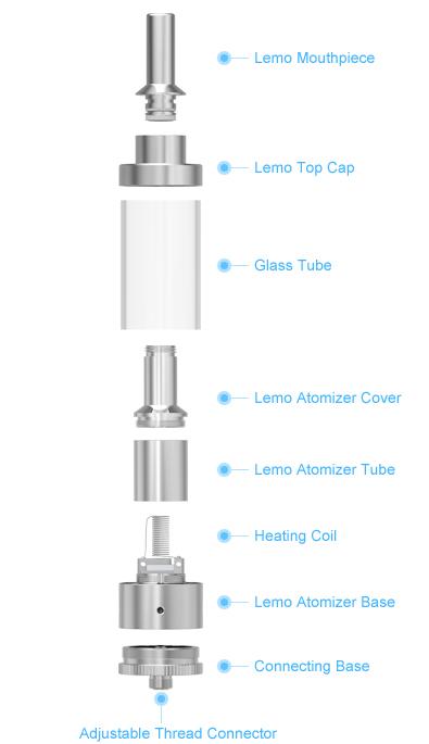 Lemo Atomizer