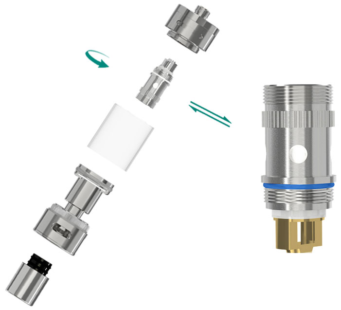 melo 2 atomizer how to clean