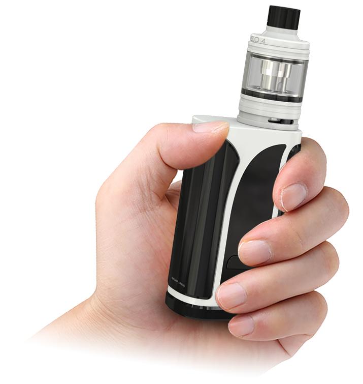 Eleaf iKuu i200 E-sigarett lett å holde i hånda