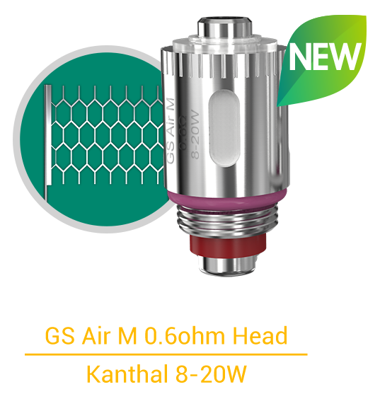 GS Air M 0.6ohm Head