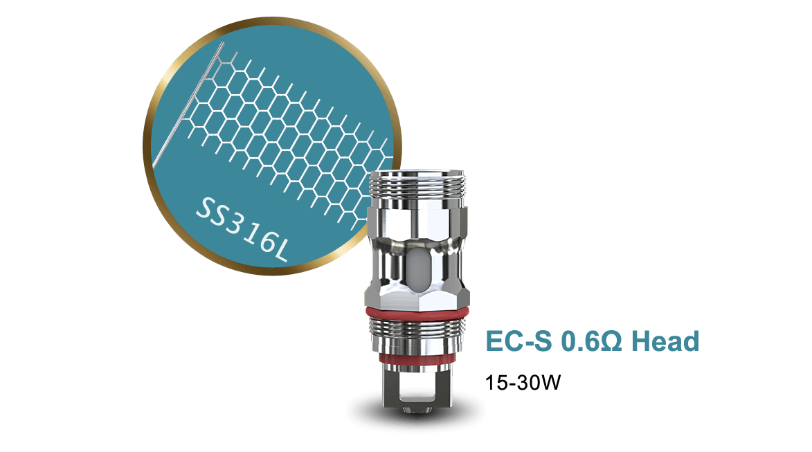 EC-S 0.6ohm Head