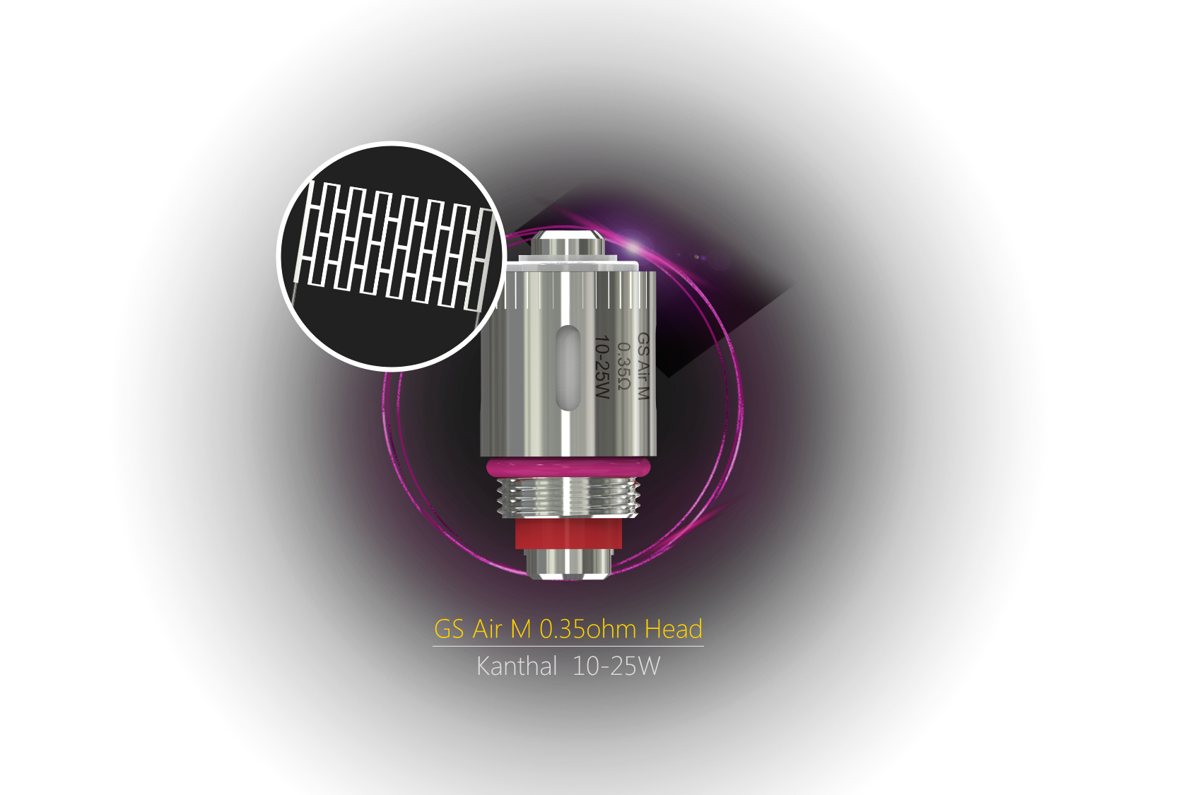 GS Air M 0.35ohm Coil