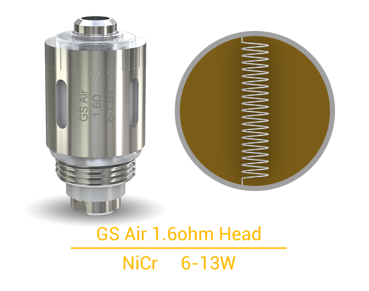 GS Air 1.6ohm Head