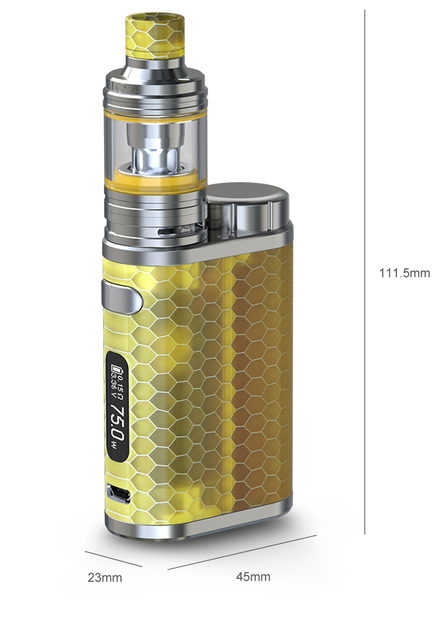 iStick Pico RESIN with MELO 4
